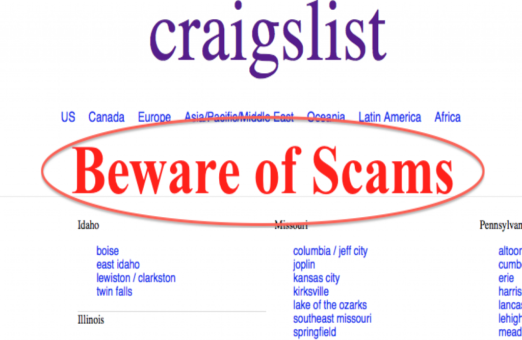 Top 10 Red Flags When Buying And Selling On Craigslist A livonia man clued me into a craigslist ad after an exchange he had during his search for an apartment that would be closer to his job in downtown detroit. red flags when buying and selling