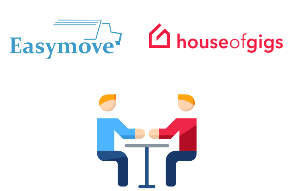 Easymove partners  with House of Gigs. Now Easymovers will get No-Fee Bank Account.