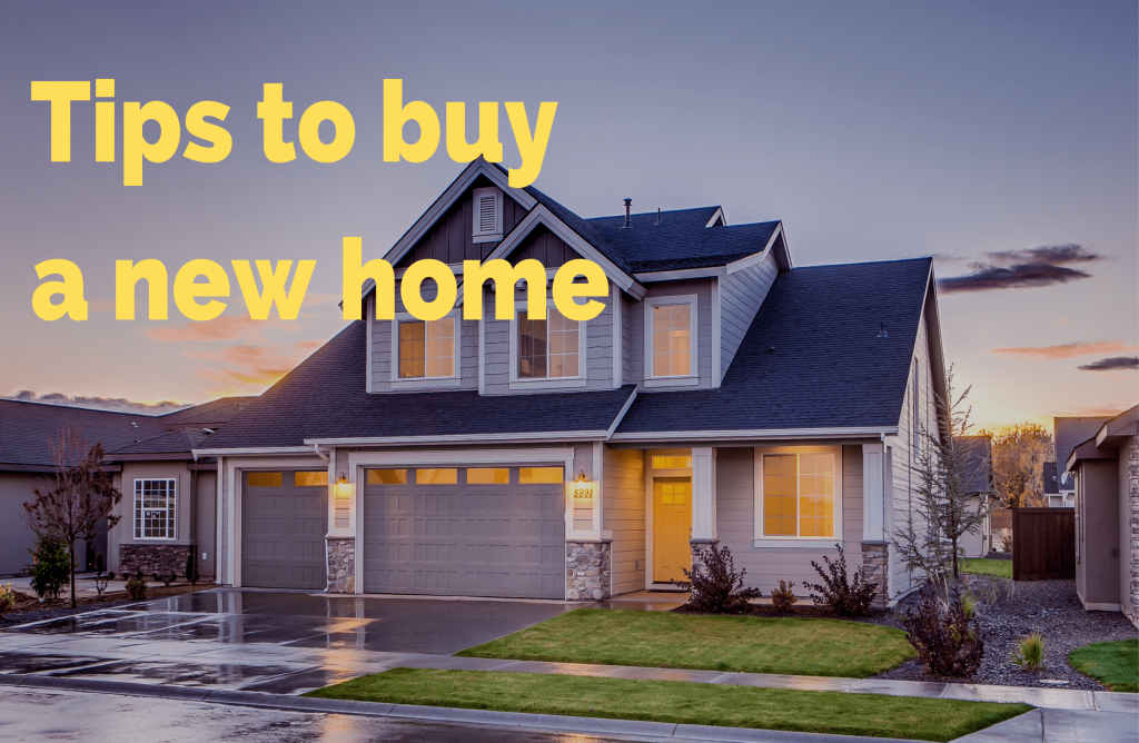 Learn simple steps to follow when purchasing a new home today.