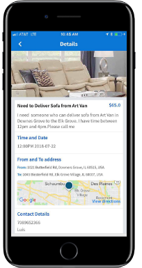 Easymove Moving and delivery App