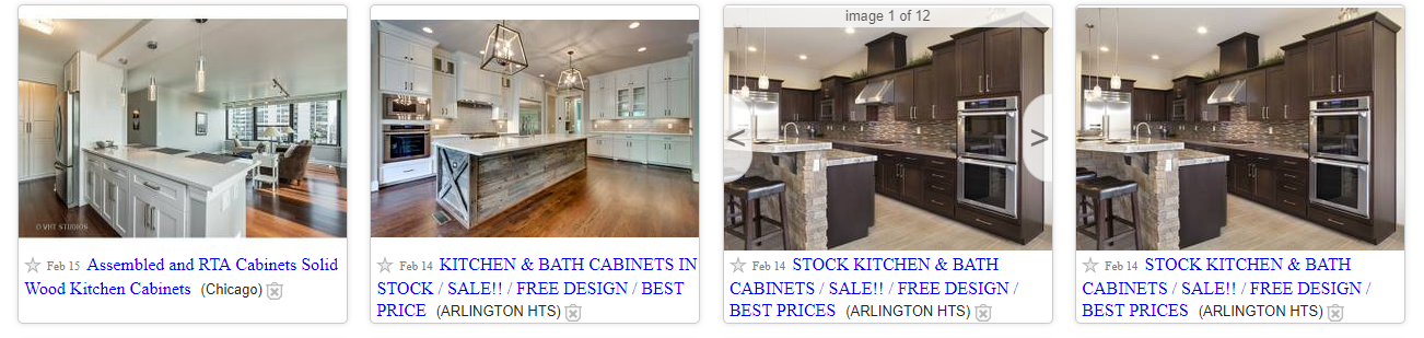 used kitchen cabinets for sale craigslist