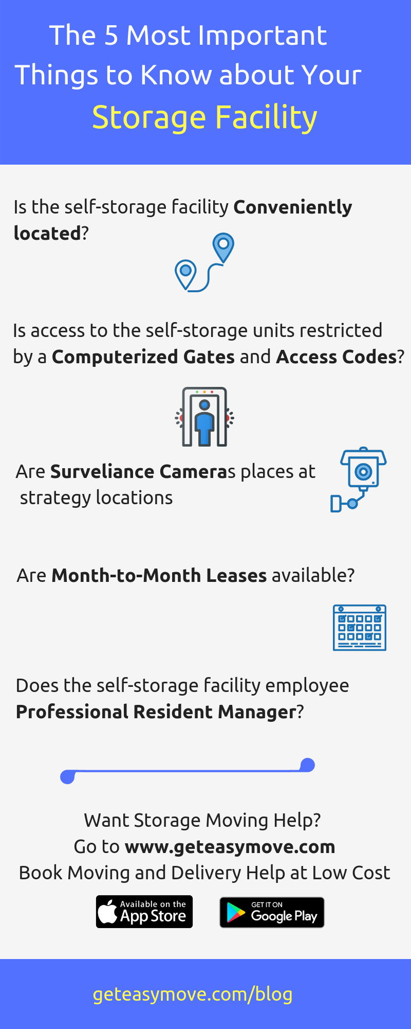 The most Important Things to know about Storage Facility